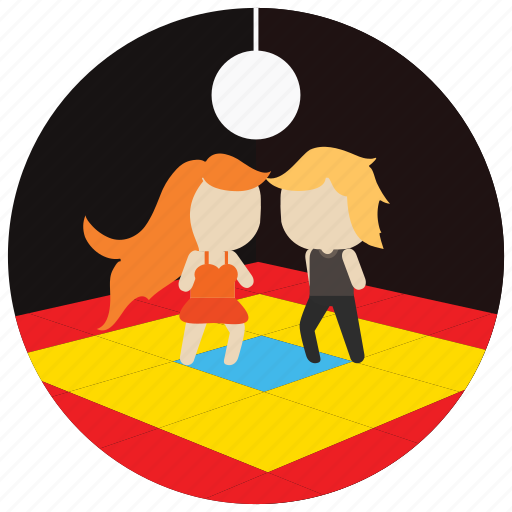 ball, dance, dancing, floor, interactions, lights, social icon