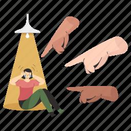 hand, gestures, racism, descrimination, woman, gesture, person