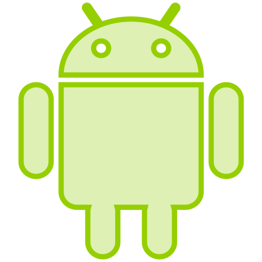 android, line, mobile, phone, smartphone, social, transparent icon