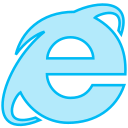 browser, internetexplorer, line, social, transparent icon