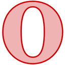 line, opera, social, transparent icon