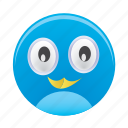 animal, bird, face, twitter icon
