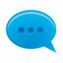blog, bubble, chat, communication, message icon