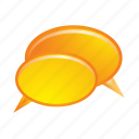 bubble, bubbles, chat, communication, speech, talk icon