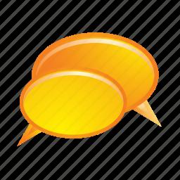 bubble, bubbles, chat, communication, speech, talk icon