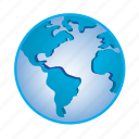 earth, global, globe, location, planet, world icon