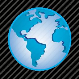 earth, global, globe, location, planet, world icon