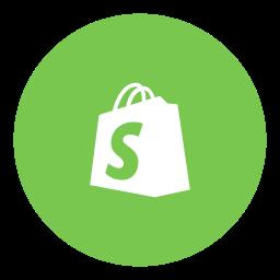 shopify, social icon