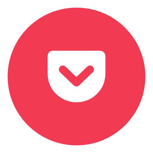 pocket, social icon