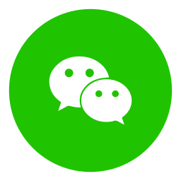 messenger, social, wechat icon