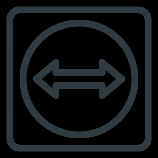 logo, media, social, teamviewer icon