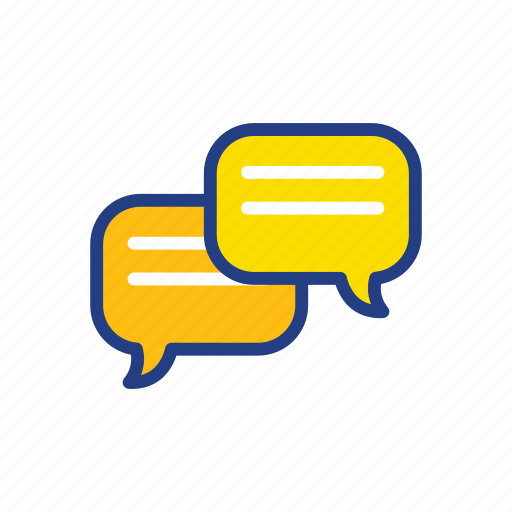 chat, chating, conversation, message icon