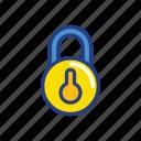 lock, media, save, security, socia icon
