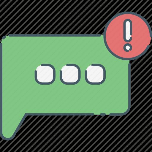 communication, media, message, network, notif, notification, social icon