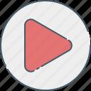 communication, media, multimedia, network, play, social, video icon