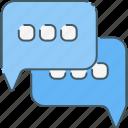 chat, chatting, communication, media, network, social, web icon
