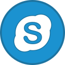 skype, logo, call, talk icon