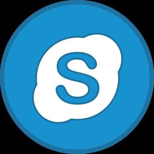 call, logo, skype icon