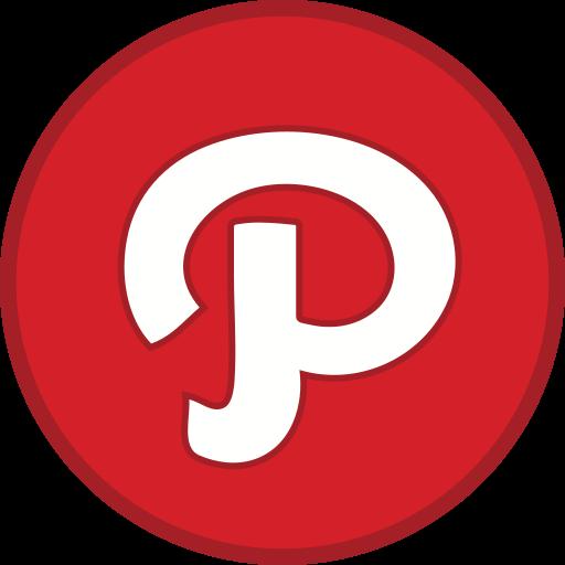 Logo, pinterest icon
