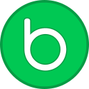 badoo, logo, sign icon