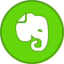 evernote, logo, sign icon