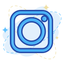 media, instagram, social icon