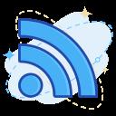 media, social, wifi icon