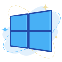 windows, media, social icon