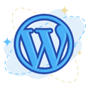 media, wordpress, social icon