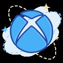 media, social, xbox icon