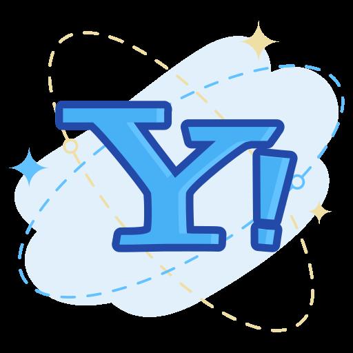 mail, media, social, yahoo icon
