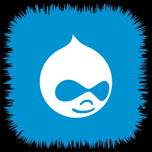 Drupal, media, social icon - Free download on Iconfinder