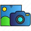 camera, image, lens, photo icon