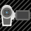 camcorder, camera, capture, handycam, video recorder icon