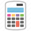 accounting, budgeting, calculating machine, calculation, calculator icon