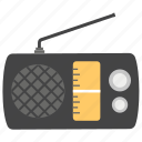 boombox, old radio, portable radio, radio, retro radio, vintage radio