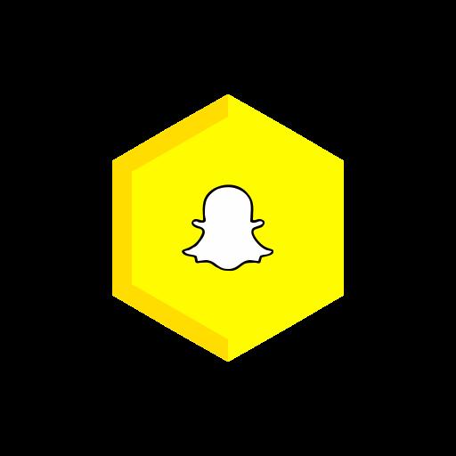 Chat, chatting, communication, logo, phone, snapchat, social media icon - Free download