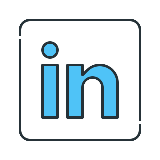Linkedin Network Resume Icon