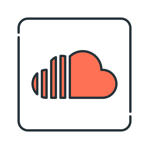 audio, soundcloud, streaming icon