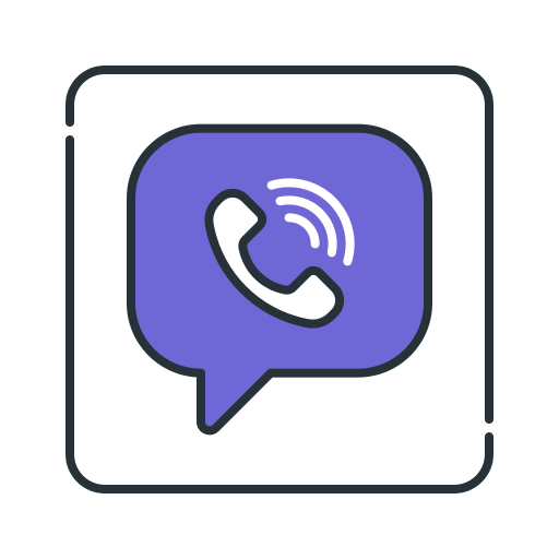 chat, messenger, viber icon
