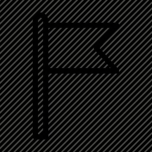 Flag, media, sign, social, waving icon - Download on Iconfinder