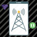wifi hotspot, hotspot, wifi zone, wireless signals icon