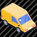 media van, van, car, transport, automobile