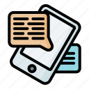 text, chat, bubble, talk, message