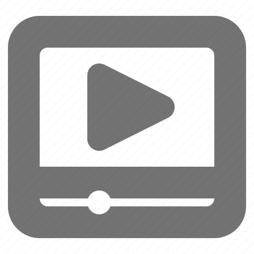 clip, entertainment, media, play, stream, tube, video icon