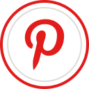brand, logo, media, pinterest, social icon