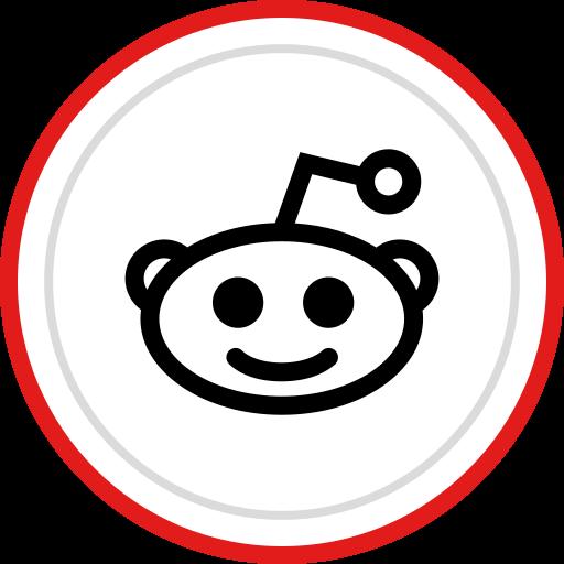 brand, logo, media, reddit, social icon