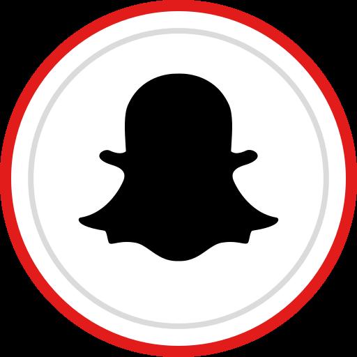 brand, logo, media, snapchat, social icon