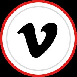 brand, logo, media, social, vimeo icon