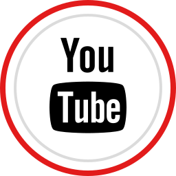 brand, logo, media, social, youtube icon